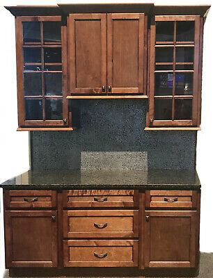 Legacy Rustic Shaker Kitchen Cabinets-Sample door-RTA-All wood, in stock