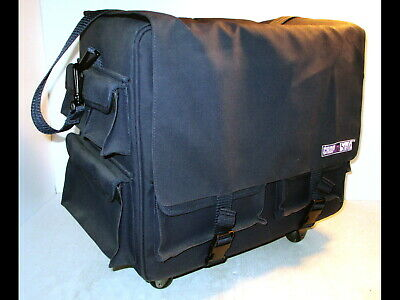 Crop In Style Large Rolling Craft Travel Tote Sbook
