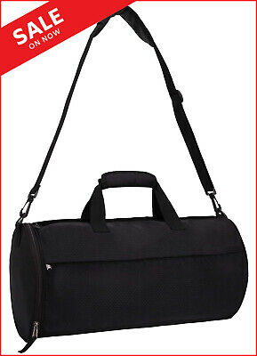 76f254bd9 MIER Small Gym Bag for Men Women Carry On Duffel with Wet Small, Black
