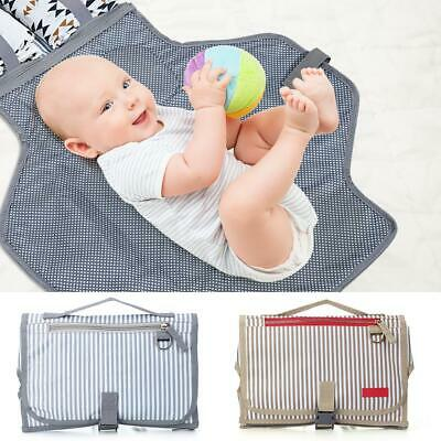 Portable Diaper Changing Bags Pad Baby Foldable Waterproof Nappy Change Mat