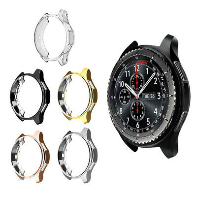 For Samsung Galaxy Watch Active 46mm Smart Watch Screen Protector TPU Case Cover