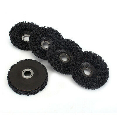 5Pc 125mm Abrasive Poly Strip Disc Wheel Rust Remover Grinding For Angle Grinder