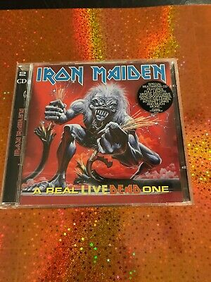 IRON MAIDEN A Real Live Dead One 1998 Enhanced UK PROMO 2 CD Set Bruce Dickinson