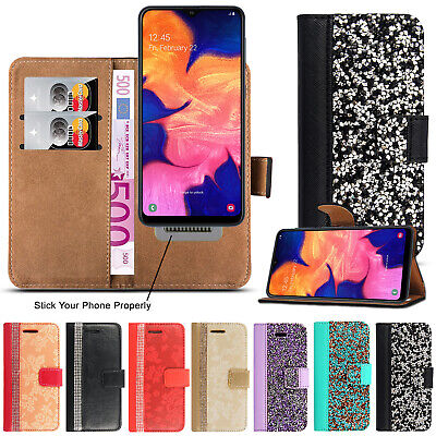Case for Samsung Galaxy A10 Luxury Leather Flip Card Wallet A10 Phone Cover