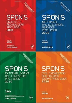 4 Spon's Books Spons  Book 2019 🌟 PDF High Quality🌟 ALL 4 Latest 2019 Edition