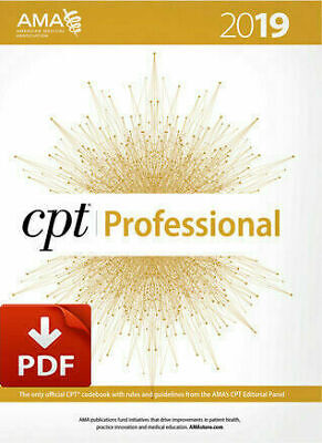 CPT Professional 2019&Gift [ PDF° ]
