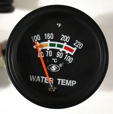 SUSUKI 52mm 40-100°c Water Temperature Gauge High Quality Mechanical Sweep Dial