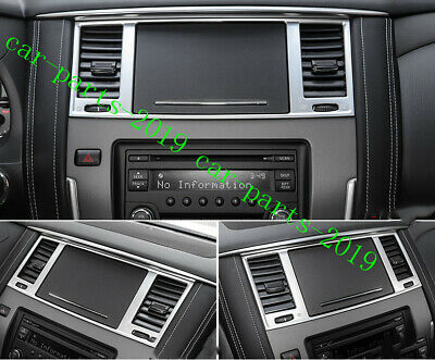 2X ABS INTERIOR Side Air Vent Outlet Cover Trim For Nissan