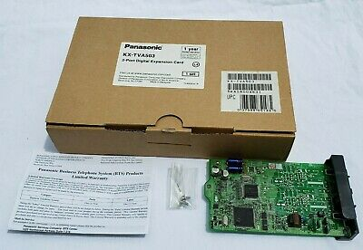 NEW -  Panasonic KX-TVA503 2 Port Expansion For KX-TVA50