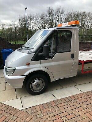 recovery truck, vehicle transporter, ford transit