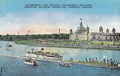 Waterfront Canadian National Exhibition TORONTO Ontario 1940 Valentine-Black
