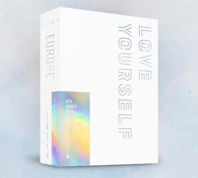 """BTS WORLD TOUR """"LOVE YOURSELF"""" EUROPE Blue-Ray - 2 DISC / Free Tracking Num"""
