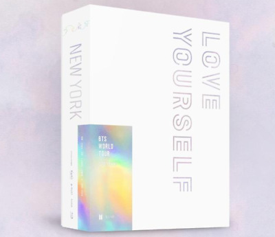 """BTS WORLD TOUR """"LOVE YOURSELF"""" NEWYORK Blue-Ray - 2 DISC / Free Tracking Num"""