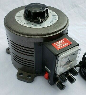 Tenma 72-110 Variable Auto Transformer w/ Built In Amp