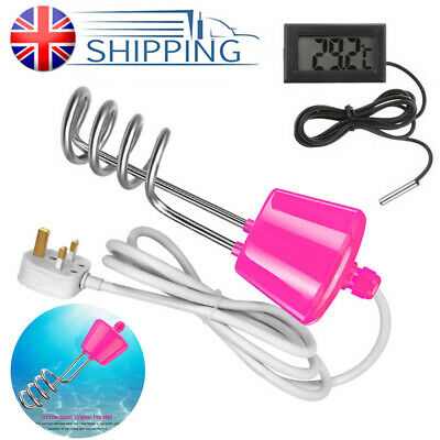 3000W Suspension Immersion Water Heater Element Boiler for Inflatable Pool UK