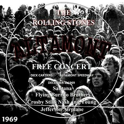 The Rolling Stones Live At Altamont Free Concert 1969 Complete Limited 2 Cd