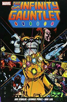 The Infinity Gauntlet by Jim Starlin, NEW Book, FREE & Fast Delivery, (Paperback