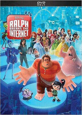 Ralph Breaks the Internet (2018 DVD) Brand New!  Fast Shipping!