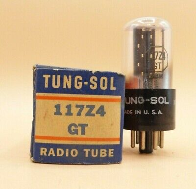 117Z4Gt Vacuum Tube Nos Tested (B20)