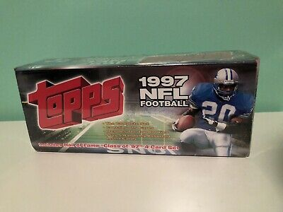 Sealed Topps 1997 NFL Football Cards Factory Set Box
