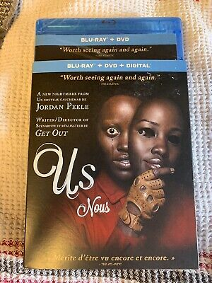 """US"" 2019 Blu-Ray & DVD Slipcover Canada Bilingual BRAND NEW"