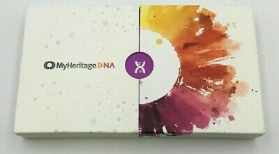 MyHeritage Ancestry Ethnicity Genetic DNA test kit * new brand  *