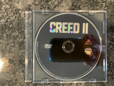 Creed II 2 2019 DVD ONLY with CD Case No Blu-Ray/Digital SAVE$$$ Combine Ship