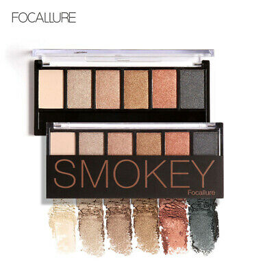 Nude Eyeshadow Palette 6 Color Matte Pearl Eye Shadows Waterproof Natural