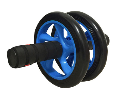 New Ab Roller Dual Wheel - Exercise for Home Gym Fitness Equipment & Accessories