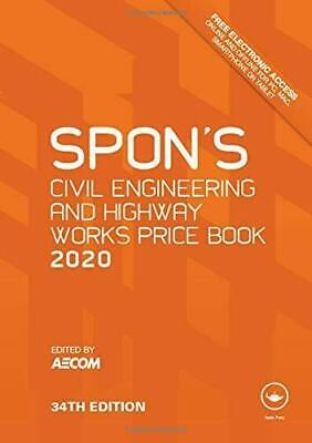 Spon's Book Civil Engineering and Highway Works Price Book 2019 (PDF DISPATCH)