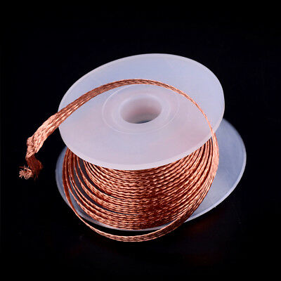 1PC 3.5mm 1.5M Desoldering Braid Solder HLmover Wick Wire HLpair  mf