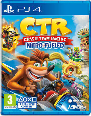 Crash Team Racing Nitro-Fueled (PS4)  NEW AND SEALED - IN STOCK - QUICK DISPATCH