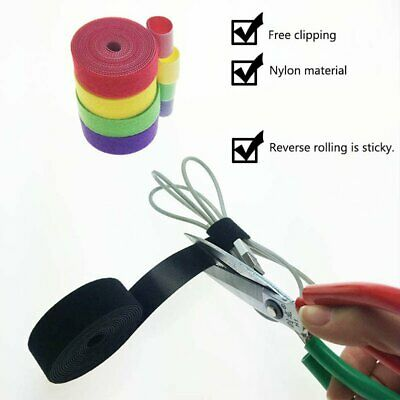 Plastic Nylon Cable Manager Winder Cable Clip Ties Belting Strap RY