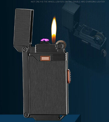Portable USB Electric Windproof Lighter Jet Flame Lighter Arc Lighter