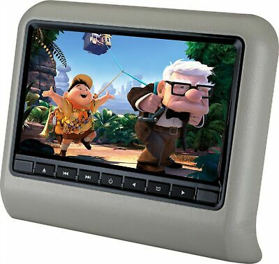9inch Black 800*480 HD LCD Screen Car Headrest DVD Player with Rear Seat Monitor
