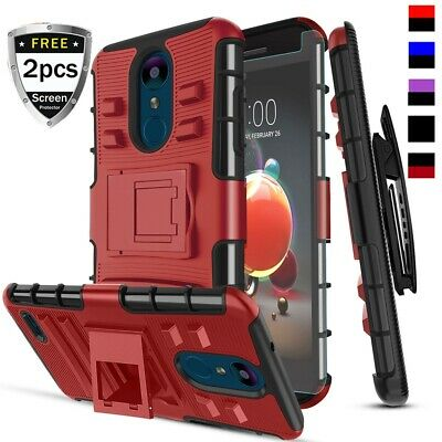 For  LG Aristo 2/LG Aristo 2 Plus/LG Tribute Dynasty Case With Kickstand