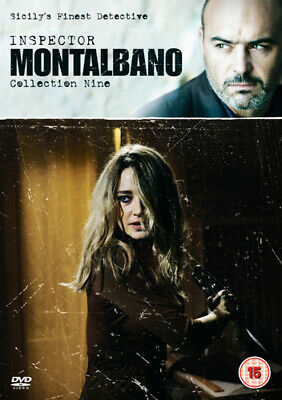 Inspector Montalbano: Collection Nine DVD (2019) Luca Zingaretti ***NEW***