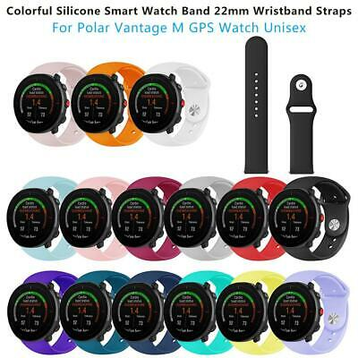 Silicone Replacement Watch Band Wristband Straps Bracelet For Polar Vantage M