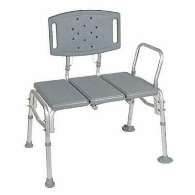 NEW!! Drive Medical 12025KD-1 Heavy Duty Bariatric Plastic Seat Transfer Bench