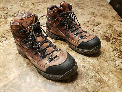 7b6a38154fc DANNER HIKING BOOTS Mens 10.5 D Brown Style 30800 Leather Vibram ...