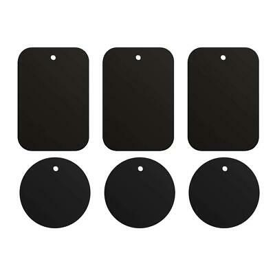 iVoler Metal Plates,(6 Pack) Plates For Magnetic Car Mount With 3M...