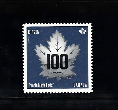 Vc879 Canada 2017 Toronto Maple Leafs - Die Cut From Annual Coll., Mint, Nh, Vf
