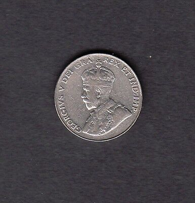 F33 CANADA 5 CENTS 5c COIN 1933 FINE $10.00