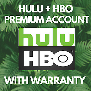 HULU Premium Account  🔥  HBO ADD ON  🔥  1 YEARS WARRANTY  🔥  FAST DELIVERY
