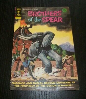 Brothers Of The Spear #9 When Mountains Melt Gold Key Comics Bronze Age 1974