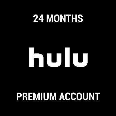 Hulu Premium Subscription / No Ads / 24 Months / Instant Delivery / Worldwide