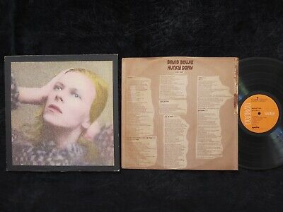 DAVID BOWIE, Hunky Dory USA 1st pressing EXCELLENT- LP [Life on Mars/Changes]