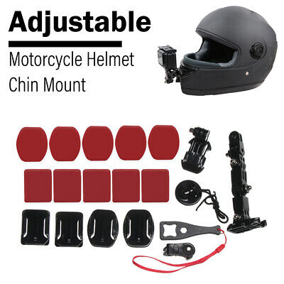Camera Holder Helmet Front Chin Mount For Gopro Hero 7 6 5 4 Accessories