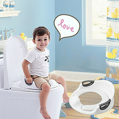 AM_ Kids Toddler Toilet Seat Cushion Baby Boy Girl Padded Training Potty Seat Ch