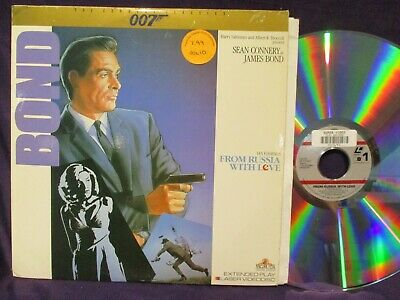 Sean Connery As James Bond 007 From Russia With Love   LASERDISC